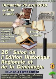 Image illustrant Salon de l'Edition Historique Régionale et de la Généalogie