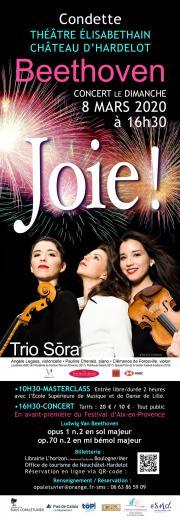 Image illustrant  Concert : Beethoven - JOIE !