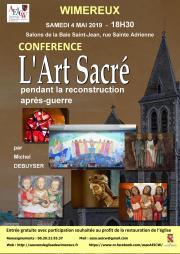 Image illustrant L'Art sacré pendant la reconstruction de l'après-guerre
