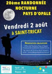 Image illustrant Rando nocturne en Pays d'Opale