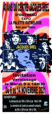 Exposition sur le thème : Jacques BREL