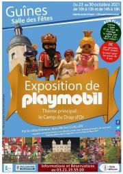 Exposition de Playmobil sur le thème du Camp du Drap d'Or