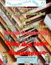 26e Marché aux Livres d'occasion de la Côte d'Opale