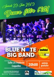 Concert d'été du Blue Note Big Band