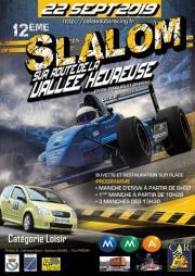 Slalom automobile de la vallée heureuse