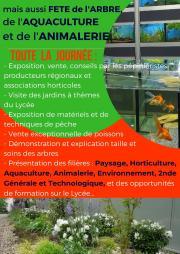 18ème Fête des Plantes, de l'Arbre, de la Pêche et de l'Animalerie