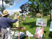 Journée des peintres dans la rue