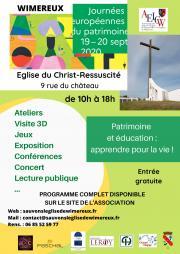 Journée du patrimoine : expo, conférences, concert, ateliers..