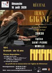 Récital de piano Chopin et Litz