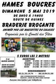 Braderie Brocante Hames-Boucres