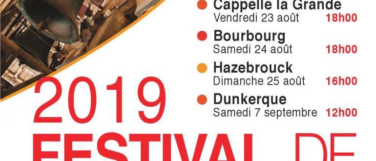 Visuel pour festival de carillons en flandre