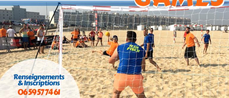 Visuel pour calais sandball games