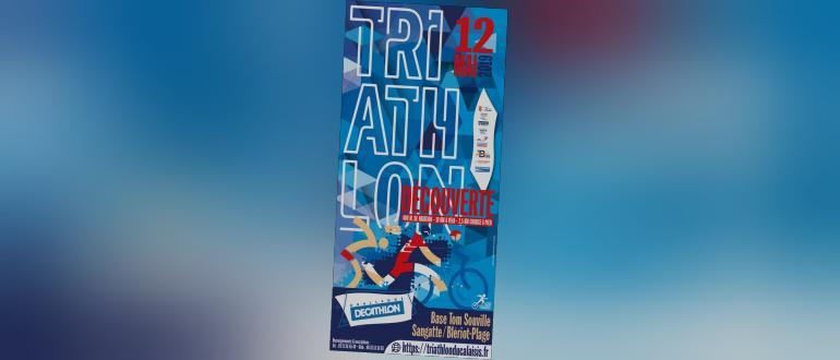 Visuel pour triathlon du calaisis