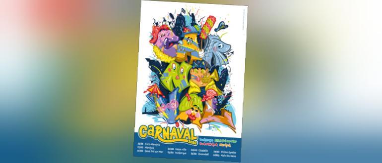 Visuel pour carnaval de dunkerque 2020