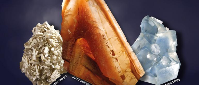 Visuel pour salon fossiles minéraux pierres taillées