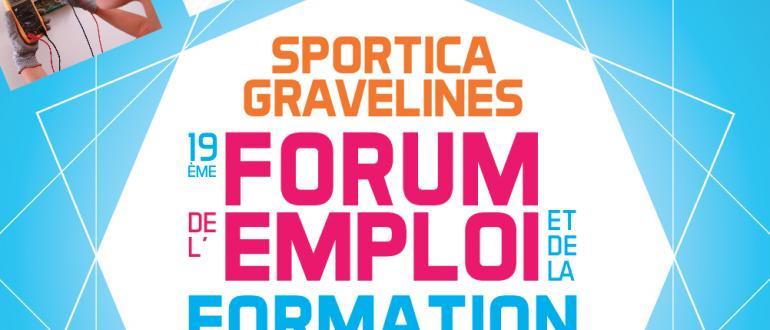 Visuel pour forum de l'emploi et de la formation professionnelle