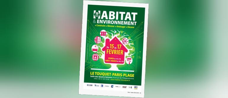 Visuel pour salon de l'habitat et de l'environnement