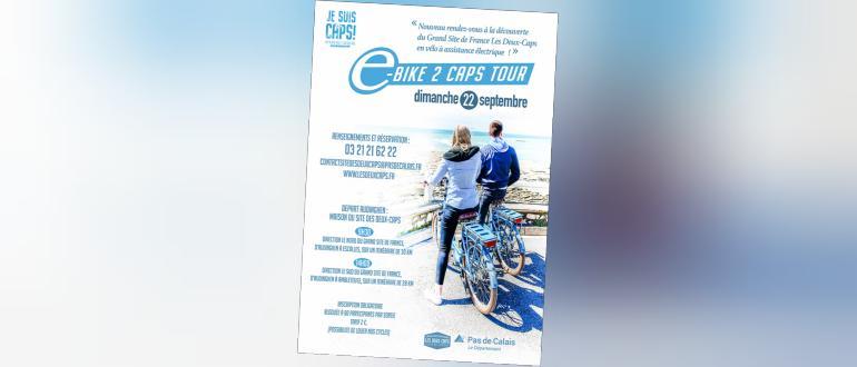 Visuel pour e-bike 2 caps tour