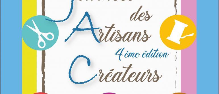 Visuel pour journées des artisans créateurs4ème édition