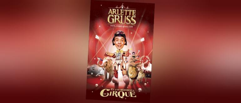 Visuel pour cirque arlette gruss