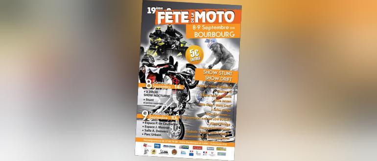 Visuel pour fête de la moto et de la sécurité routière