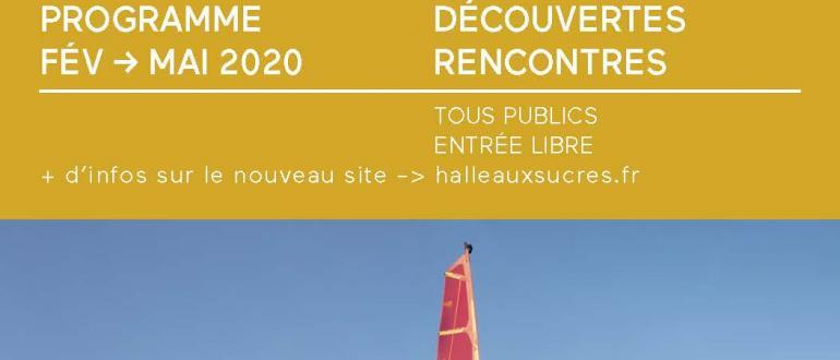 """Visuel pour la halle aux sucres - exposition """"plein vent"""""""