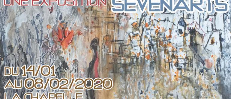 Visuel pour exposition sevenarts