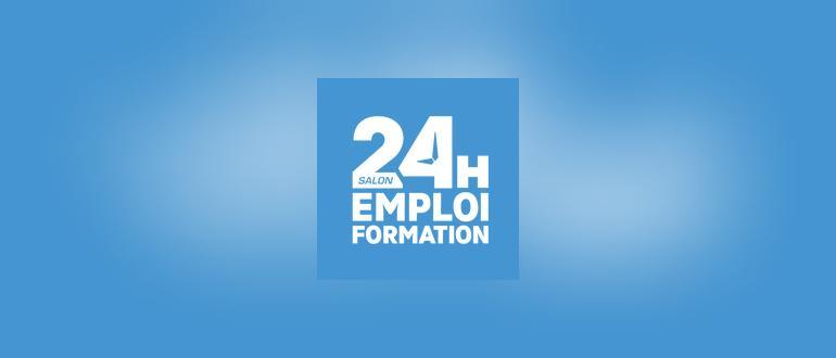Visuel pour 24 heures pour l'emploi et la formation