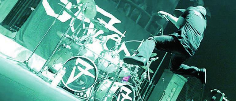 Visuel pour concert metal - seven