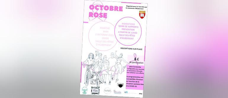Visuel pour octobre rose