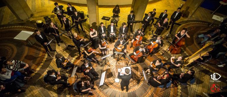 Visuel pour orchestre universitaire de lille