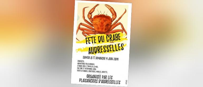 Visuel pour fête du crabe