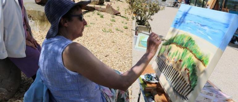 Visuel pour 25e journée des peintres