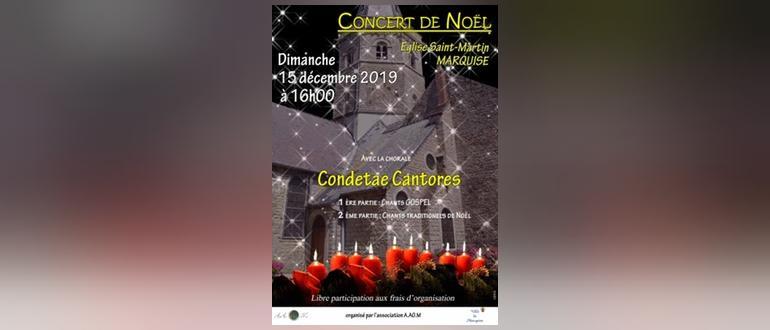 Visuel pour concert de noel