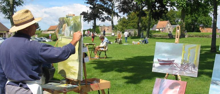 Visuel pour journée des peintres dans la rue