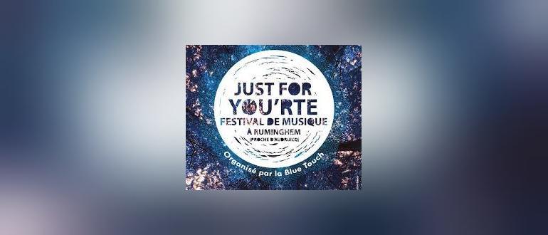 Visuel pour festival « just for you'rte »