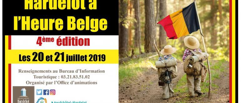 Visuel pour hardelot à l'heure belge
